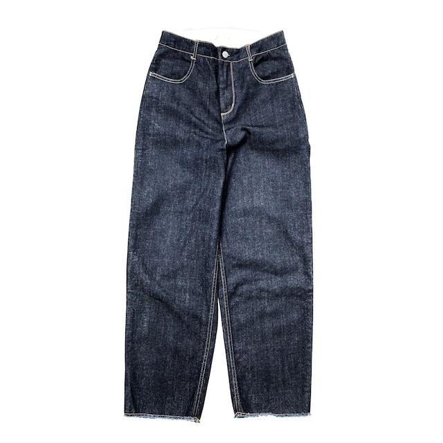 Cocoon Pants/NAVY