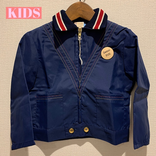 【KIDS】Vintage 70's light jacket - French -Size 4 years old-