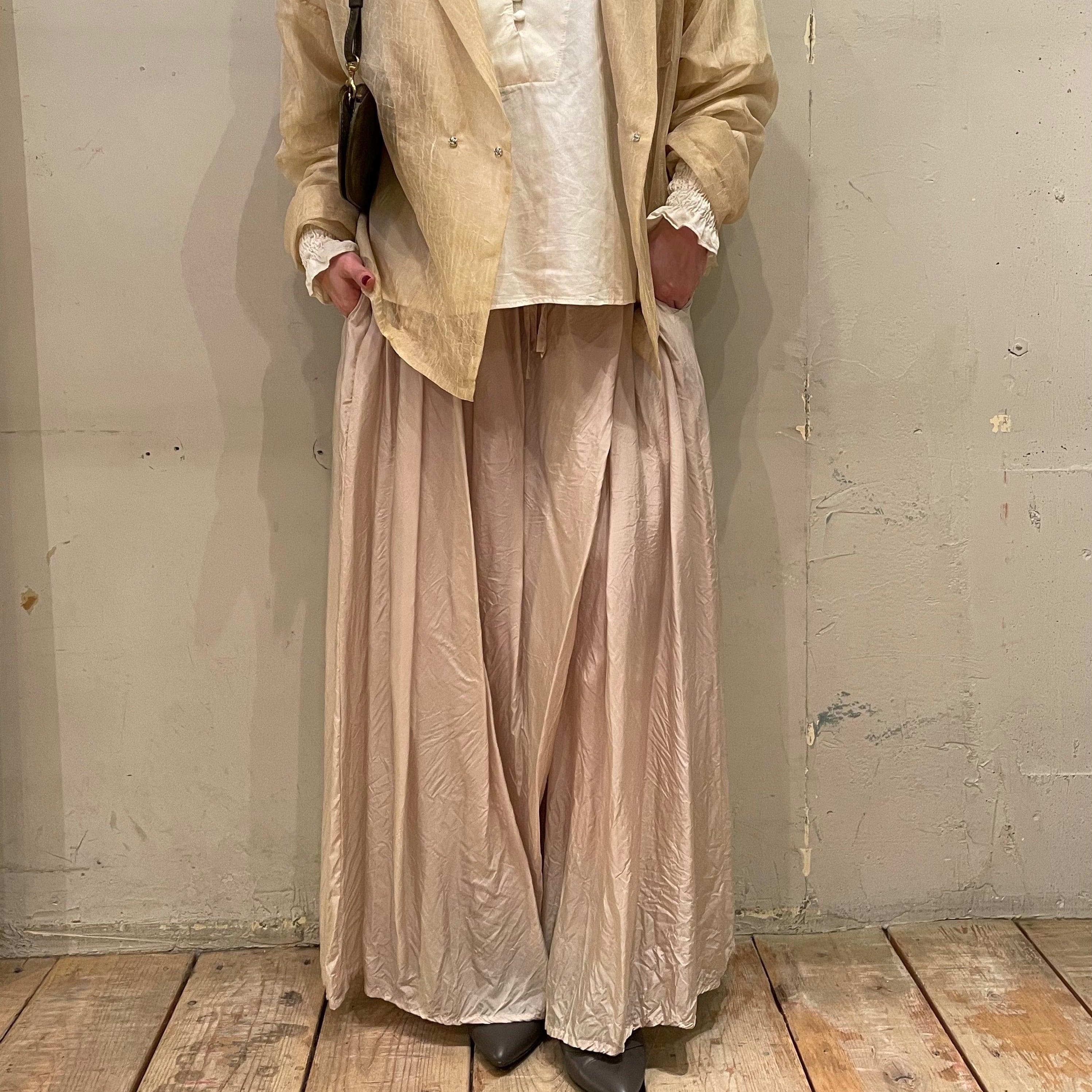 【hippiness × Sakurako.】cupro underpants(pussy willow)/ 【ヒッピネス × サクラコ.】キュプラ アンダーパンツ( 猫柳 )