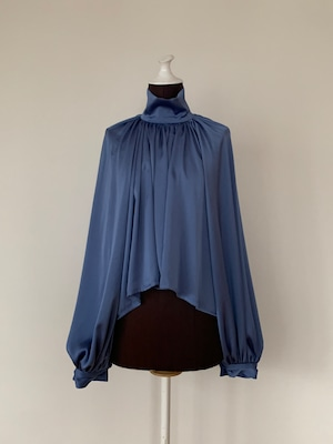 New!!  Bouffant sleeve tops/ Saxe blue (2021 New collection)