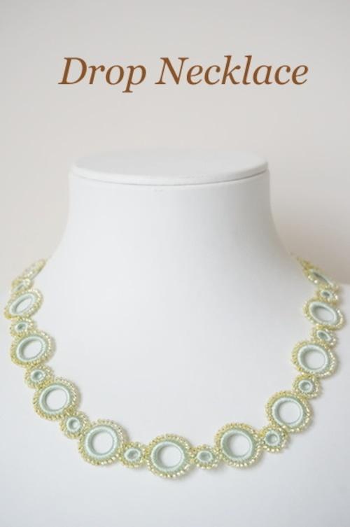 ボンジュクオヤのネックレス ドロップB(カラーは商品内ページよりお選びください。)