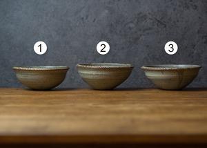錆浅葱 縁削り小鉢(小鉢・ボウル)/吉永哲子