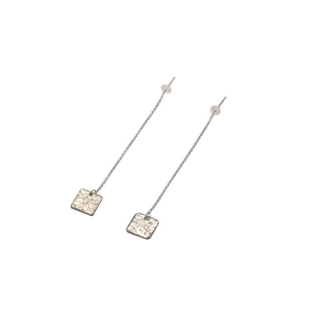 《ピアス》TIN BREATH Pierced earring A 10×10mm Silver