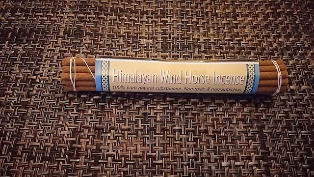 himalayan wind hourse incense  チベット お香 大