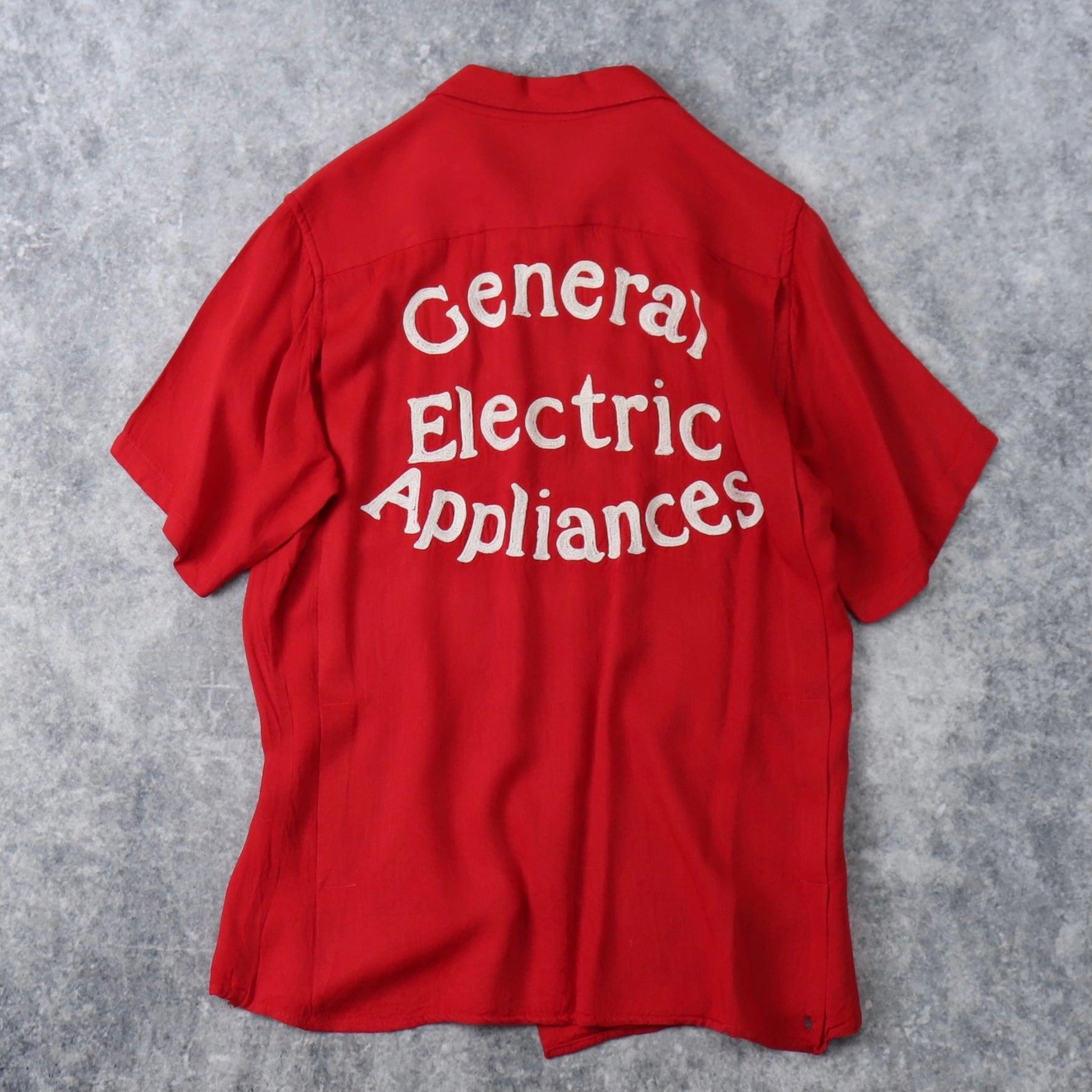 """60年代 """" King Louie """"   ボーリングシャツ General  Electric    L   ヴィンテージ"""