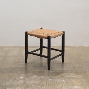 USED 松本民芸家具 #19型ラッシ編みスツール
