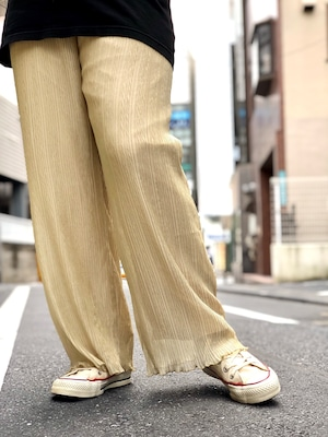 【DUST AND ROCKS】Crinkle Pants