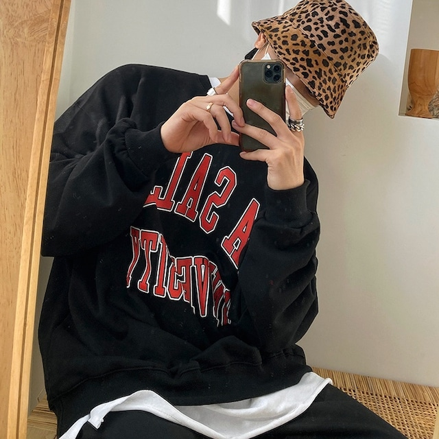 Street round neck sweater   b-504