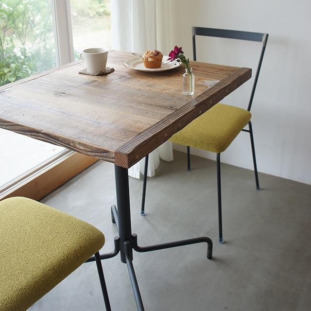 テーブル01 【天板:古材 590*700】KT1702