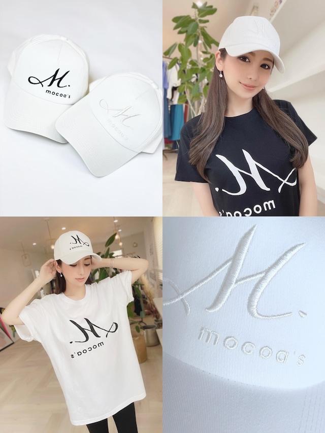 M.mocoa's CAP (ホワイト)¥4,800+tax