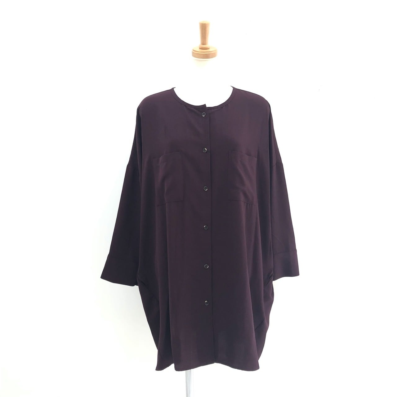 【 CHIGNONSTAR 】- 1602-032 - バッククロスチュニックシャツ