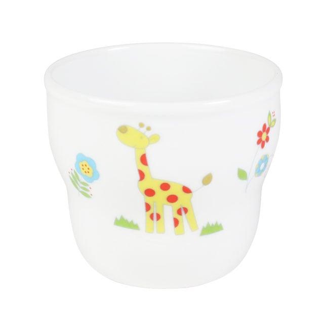 強化磁器 持ちやすい乳児用カップ(φ7cm×H6cm/満水150ml)  さふぁり 【1986-1250】