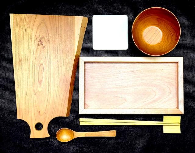 【単品】木製 コースター(シナノキ)