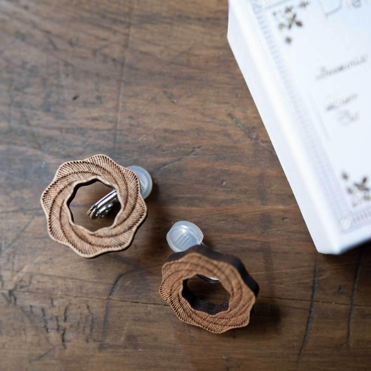 whirlpool / 渦潮(Pierced Earring)