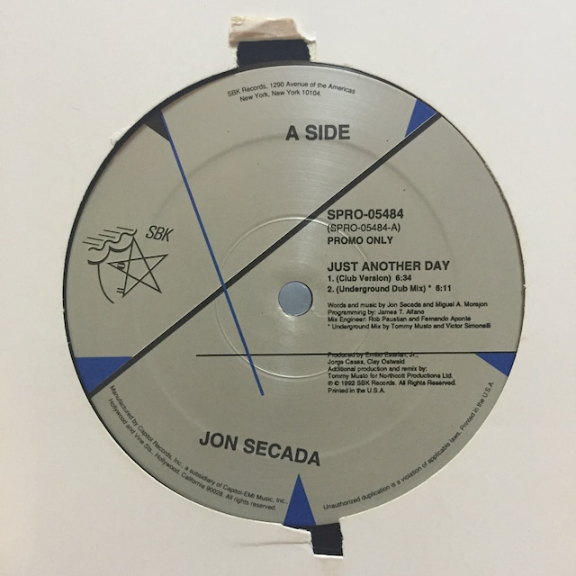 JUST ANOTHER DAY / JON SECADA