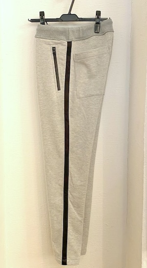 Side Line Sweat Tapered Pants Gray