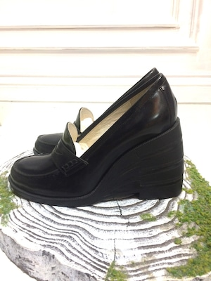 ANREALAGE MOTION COIN LOAFER BLACK