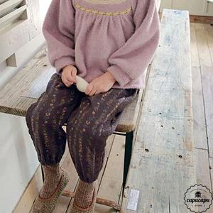 «sold out» flo retro flower pants 2colors レトロフラワーパンツ