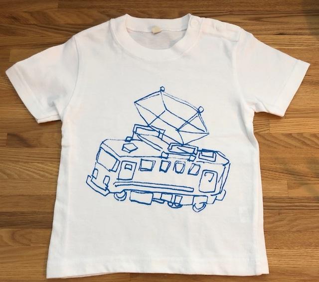 おうちで作ろう!お絵かきTシャツ キット *でんしゃ・くるま*100~140cm対応 送料無料
