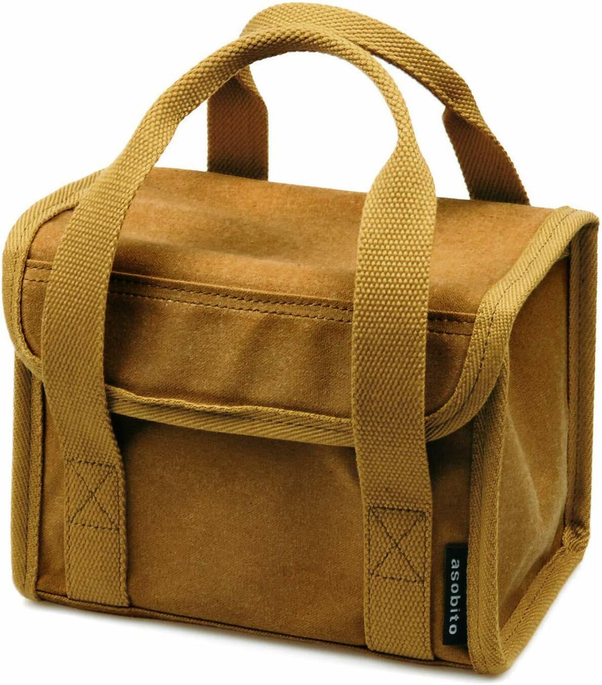 asobito ツールボックス XSサイズ(キャメル)9号綿帆布 アソビト