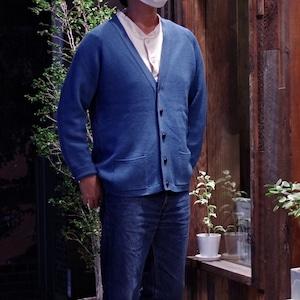 St Michael All Wool Cardigan / Made in BRITAIN / ナイスカラー 英国製 ウール カーディガン