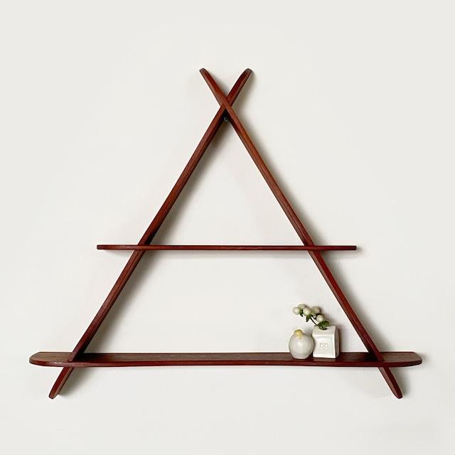 Triangle wall shelf  / WS032