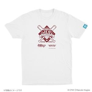 初音ミク×パ・リーグ Tシャツ イーグルス
