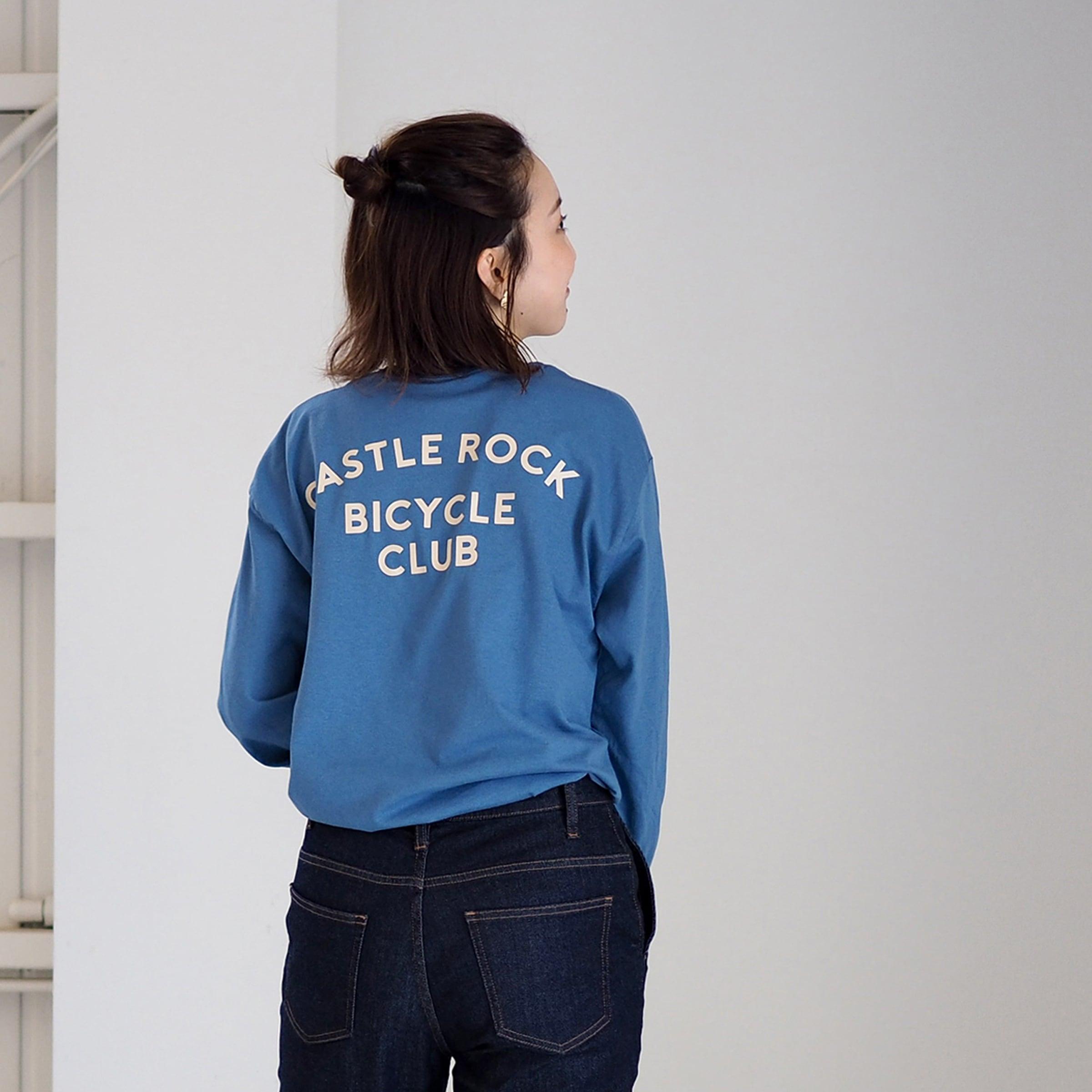 CBC L/S Tee dull blue(ロンT)