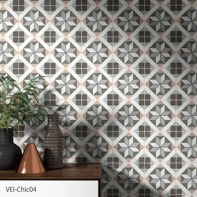 ヴェインテ  SWAN TILE 200角のセメントタイルを模したタイルです。