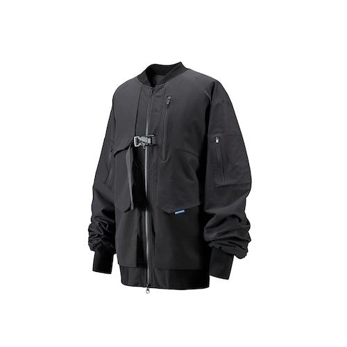 RL   REINDEE LUSION 20AW プリーツデザインボンバージャケット