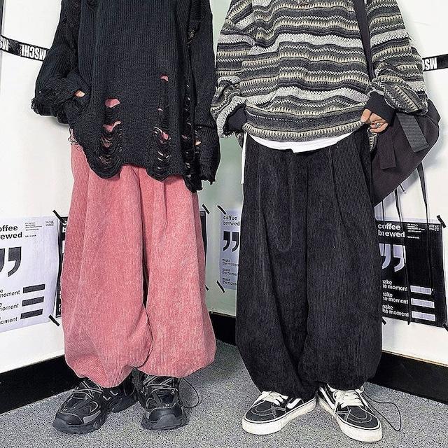期間限定セール品【ボトムス】ワイルドストリート系男女兼用ファッションパンツ52378651