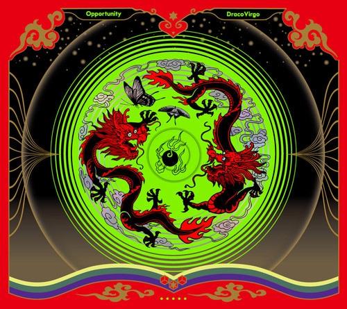 DracoVirgo 1st Full Album CD『Opportunity』(オポチュニティー)