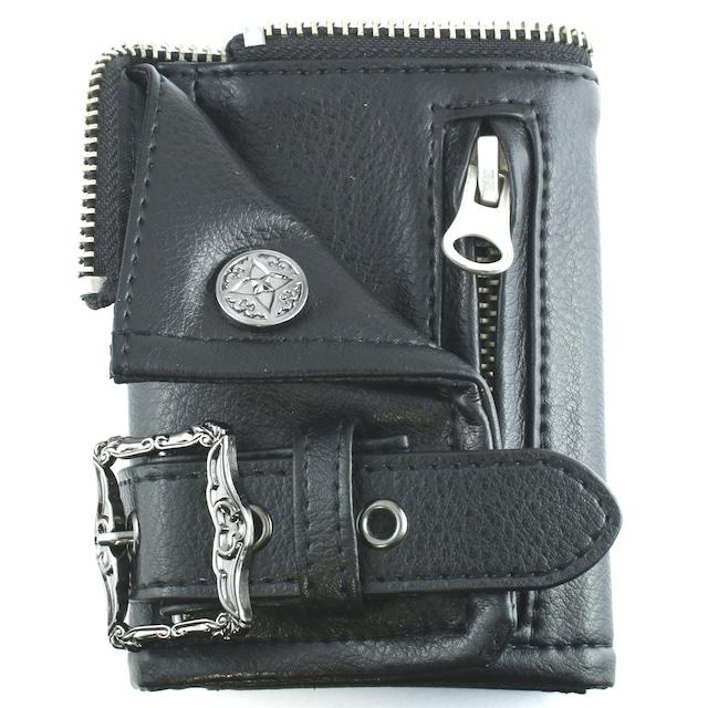 本革ライダースキーケースウォレット ACLKC0009 Genuine leather riders key case wallet