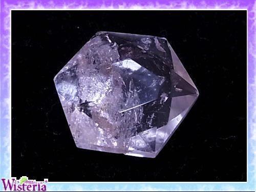 水晶 六芒星(hexagram) 直径37mm×厚み14mm