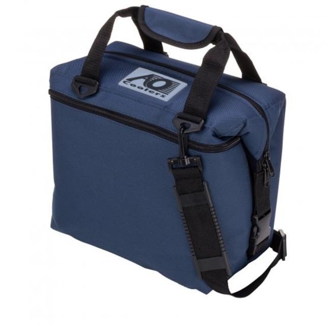 AO coolers 12パックキャンバスソフトクーラー ネイビー AOクーラー
