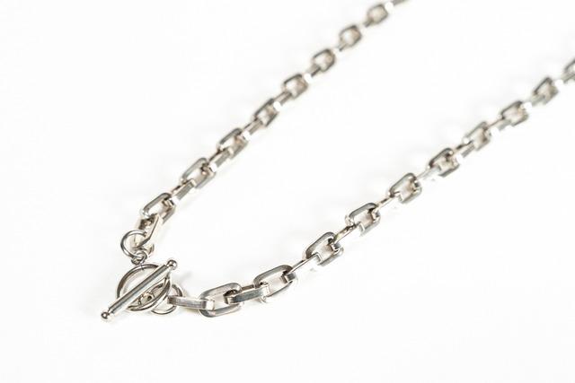 【316L square chain necklace】 / SILVER