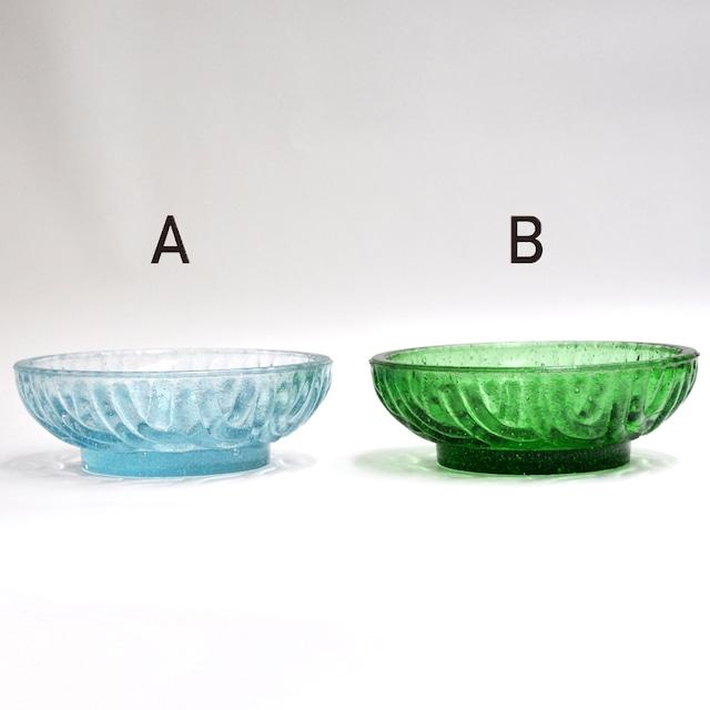 EREACHE PUEBLA GLASS エレアチェ 小皿 メキシコ プエブラ