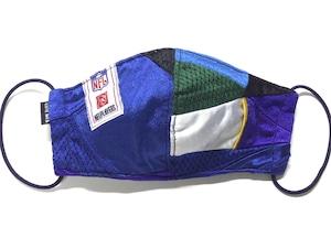 【デザイナーズマスク 吸水速乾COOLMAX使用 日本製】NFL CRAZY PATTERN SPORTS MASK CTMR 1113021