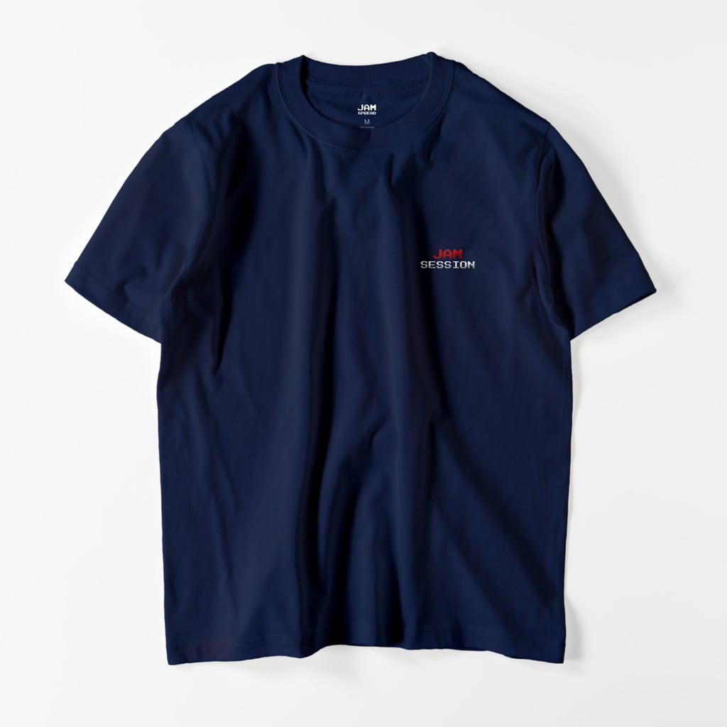 JAM SESSION EMBROIDERY T (NAVY)