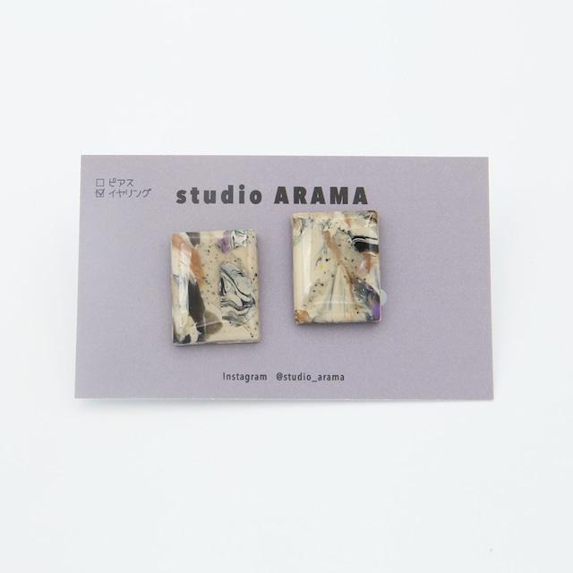 studioARAMA/スタジオアラマ/アートミニイヤリング/AM-2-18