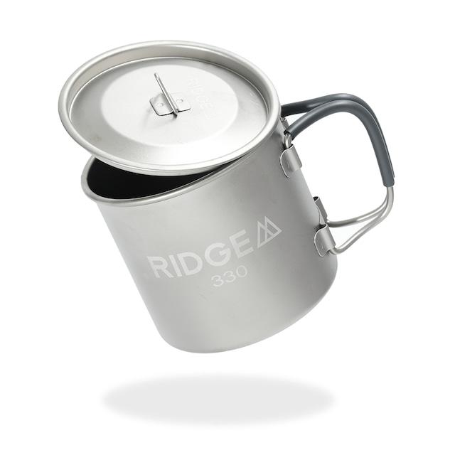 Single Titanium Mug 330 + Lid