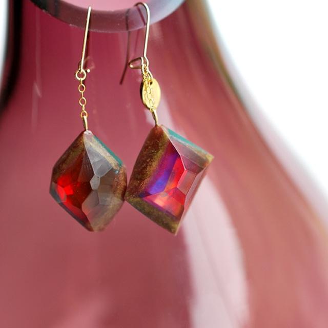 Art opal Jewelry 14KGF ピアス⇄イヤリング