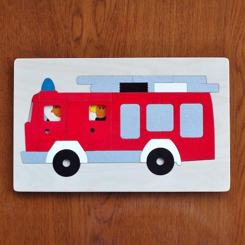 ジョージラック 2重パズル 消防車