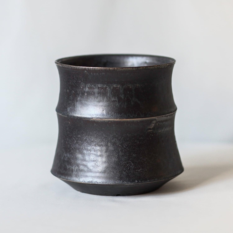 Roughness Black Plants Pot(No,01)※MEDIUM