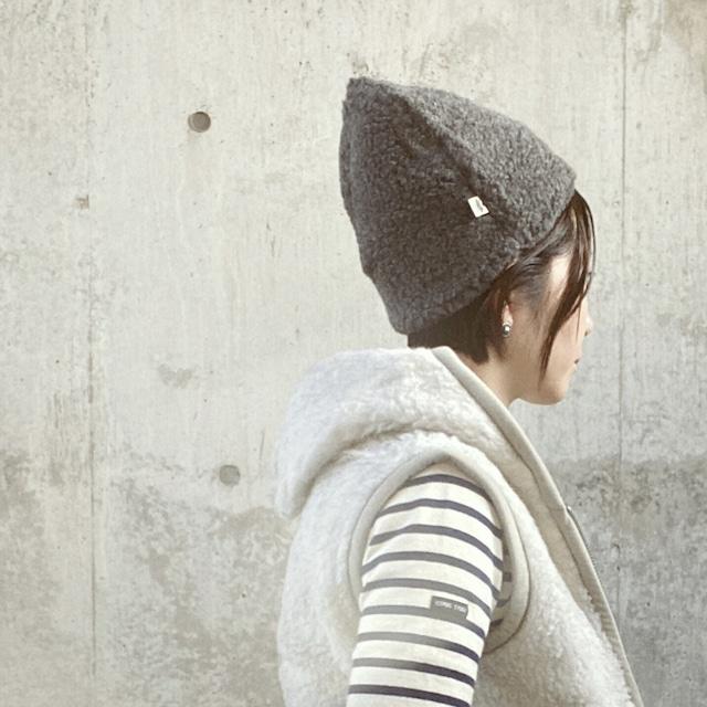 ふんわり袖白シャツ サイドリボン付(コットン・タイプライター・フリーサイズ)