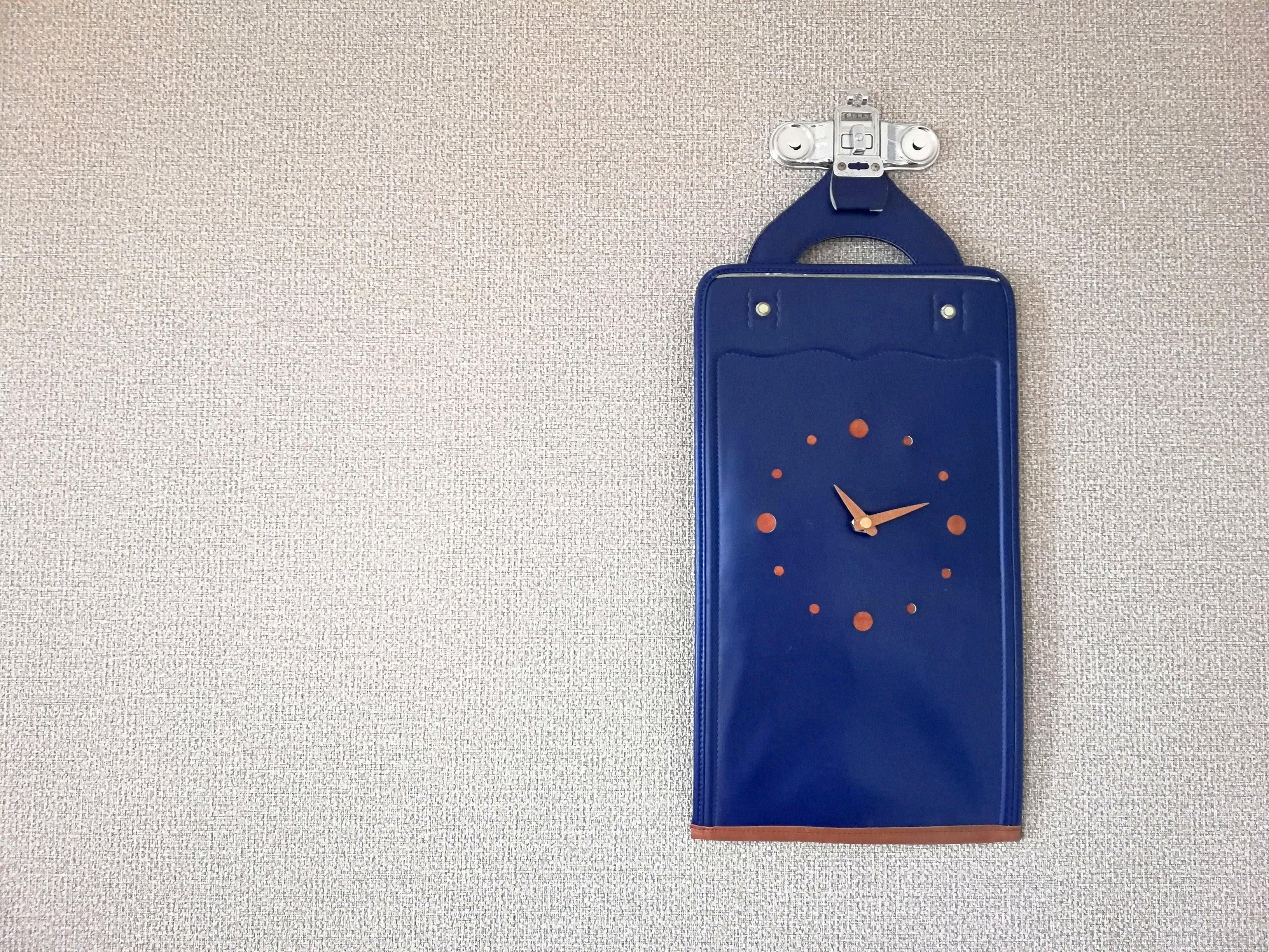 【掛-kakeru- シリーズ】Wall Clock blue