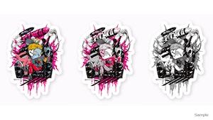 Collaborative Sticker by Kazutaka Kodaka (Tookyo Games) and jbstyle.