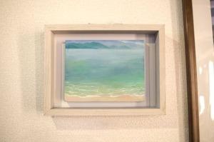 【絵画 油彩】『印象-向島から望む因島-』2Lサイズ 額入り