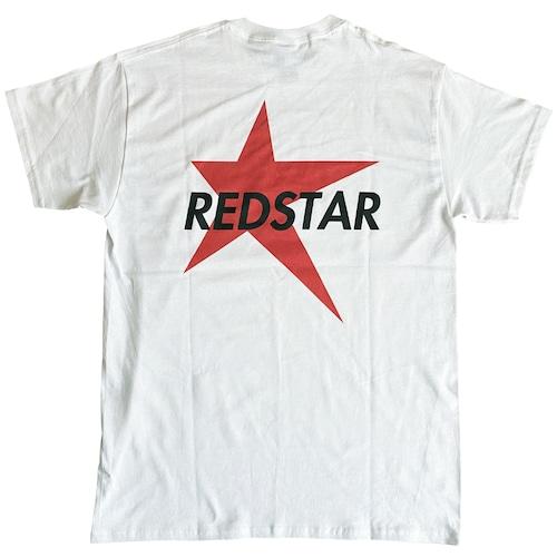 【REDSTAR】レッドスター 両面プリントTシャツ