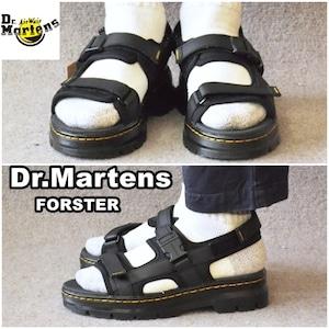 ドクターマーチン  Dr.Martens  サンダル  フォルスター  FORSTER [26471001 SS21] メンズ  ストラップ  レザーサンダル  BLACK  ブラック